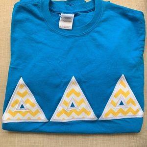 Tri Delta Letters T-Shirt